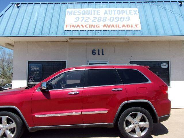 2011 Jeep Grand Cherokee for sale at MESQUITE AUTOPLEX in Mesquite TX