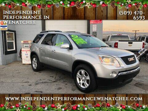 2008 GMC Acadia for sale at Independent Performance Sales & Service in Wenatchee WA