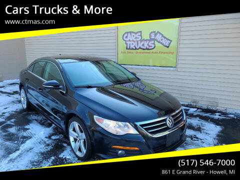 2012 Volkswagen CC for sale at Cars Trucks & More in Howell MI