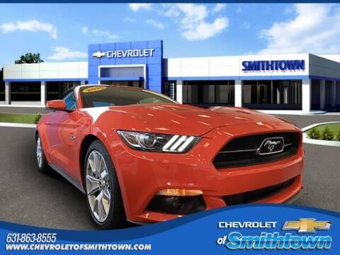 2015 Ford Mustang for sale at CHEVROLET OF SMITHTOWN in Saint James NY