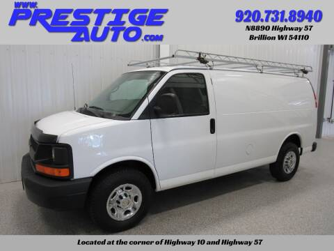 2013 Chevrolet Express Cargo for sale at Prestige Auto Sales in Brillion WI