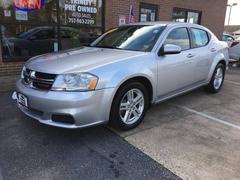 2012 Dodge Avenger for sale at Bankruptcy Car Financing in Norfolk VA