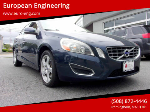 2013 Volvo S60 for sale at European Engineering in Framingham MA