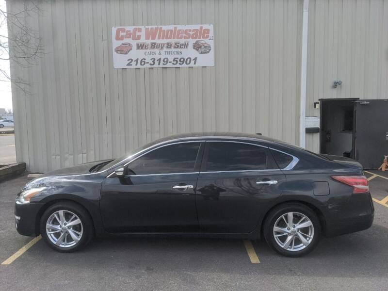 2013 Nissan Altima for sale at C & C Wholesale in Cleveland OH