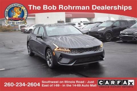 2021 Kia K5 for sale at BOB ROHRMAN FORT WAYNE TOYOTA in Fort Wayne IN