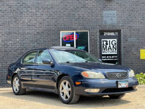 2004 Infiniti I35 for sale at Big Man Motors in Farmington MN