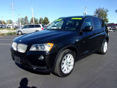 2013 BMW X3 for sale at Ideal Auto Sales, Inc. in Waukesha WI