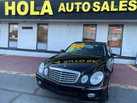 2008 Mercedes-Benz E-Class for sale at HOLA AUTO SALES CHAMBLEE- BUY HERE PAY HERE - in Atlanta GA