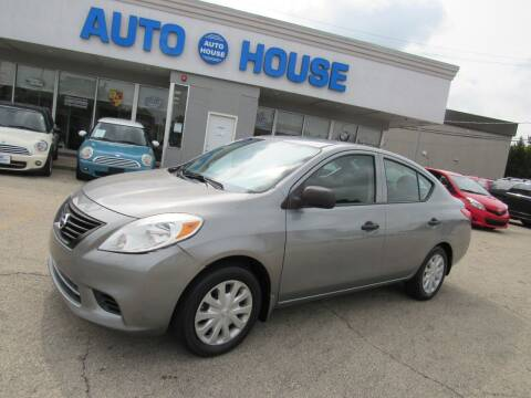 2012 Nissan Versa for sale at Auto House Motors in Downers Grove IL