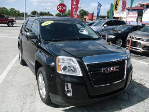 2015 GMC Terrain for sale at SUPERAUTO AUTO SALES INC in Hialeah FL