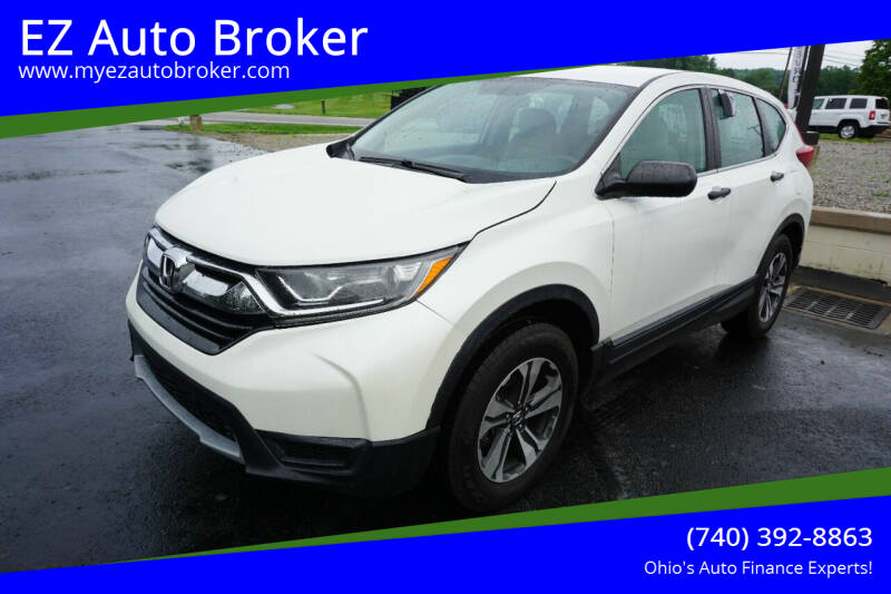 2017 Honda CR-V for sale at EZ Auto Broker in Mount Vernon OH