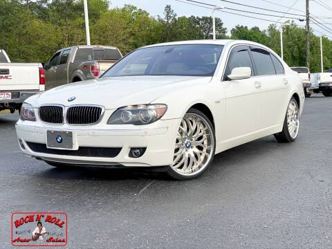 2008 BMW 7 Series for sale at Rock 'n Roll Auto Sales in West Columbia SC