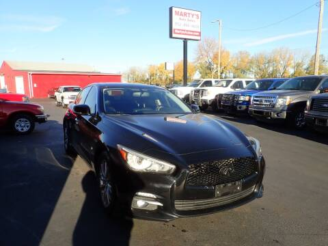 2014 Infiniti Q50 for sale at Marty's Auto Sales in Savage MN