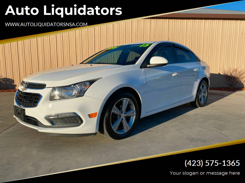 2015 Chevrolet Cruze for sale at Auto Liquidators in Bluff City TN