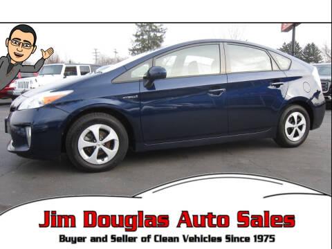 2012 Toyota Prius for sale at Jim Douglas Auto Sales in Pontiac MI