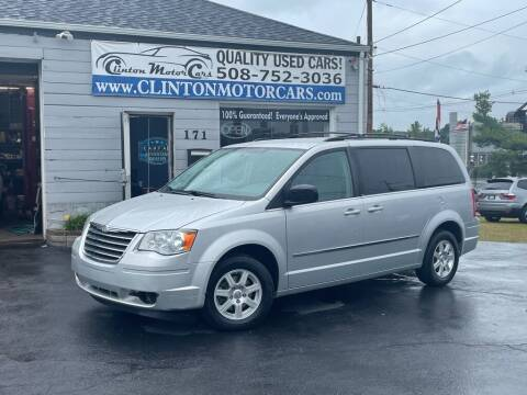 2010 Chrysler Town and Country for sale at Clinton MotorCars in Shrewsbury MA