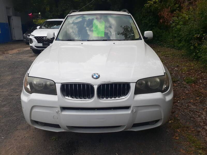 2006 BMW X3 for sale at Broad Street Auto in Meriden CT
