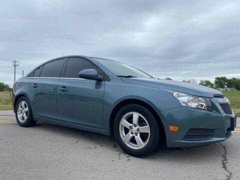 2012 Chevrolet Cruze for sale at ILUVCHEAPCARS.COM in Tulsa OK