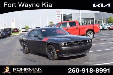 2015 Dodge Challenger for sale at BOB ROHRMAN FORT WAYNE TOYOTA in Fort Wayne IN