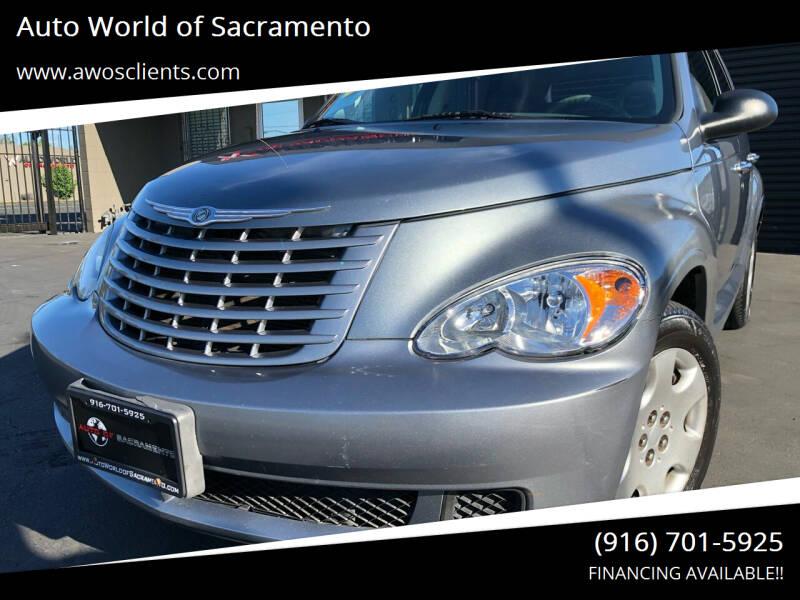 2008 Chrysler PT Cruiser for sale at Auto World of Sacramento Stockton Blvd in Sacramento CA