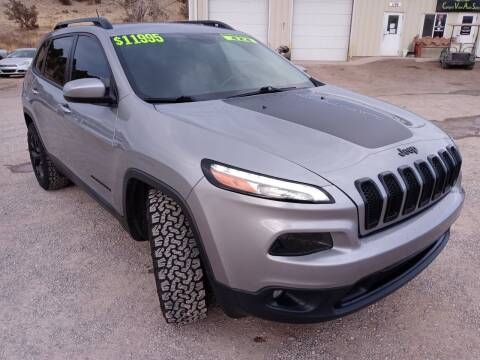 2015 Jeep Cherokee for sale at Canyon View Auto Sales in Cedar City UT