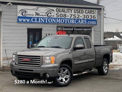 2012 GMC Sierra 1500 for sale at Clinton MotorCars in Shrewsbury MA