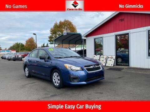 2013 Subaru Impreza for sale at Cars To Go in Portland OR