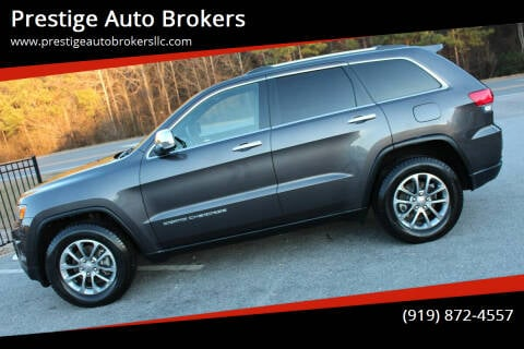 2014 Jeep Grand Cherokee for sale at Prestige Auto Brokers in Raleigh NC