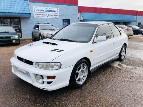 2001 Subaru Impreza for sale at The Subie Doctor in Denver CO