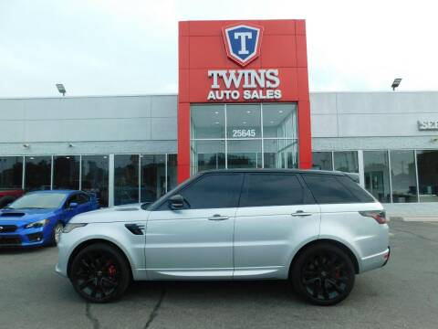 2021 Land Rover Range Rover Sport for sale at Twins Auto Sales Inc Redford 1 in Redford MI
