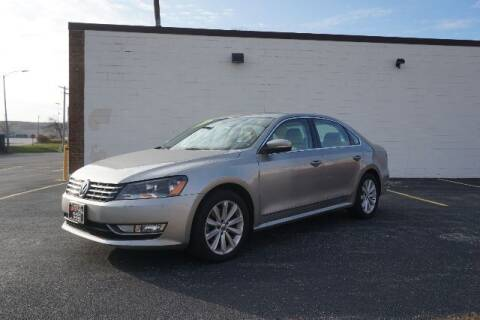 2013 Volkswagen Passat for sale at O T AUTO SALES in Chicago Heights IL