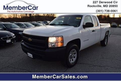 2010 Chevrolet Silverado 1500 for sale at MemberCar in Rockville MD