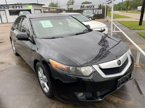 2010 Acura TSX for sale at AMERICAN AUTO COMPANY in Beaumont TX