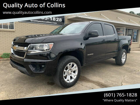 2018 Chevrolet Colorado for sale at Quality Auto of Collins in Collins MS