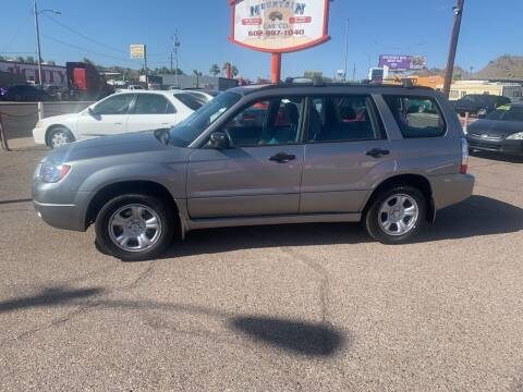 2007 Subaru Forester for sale at North Mountain Car Co in Phoenix AZ