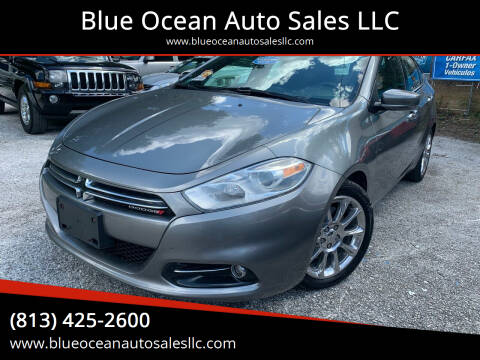 2013 Dodge Dart for sale at Blue Ocean Auto Sales LLC in Tampa FL
