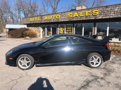 2003 Toyota Celica for sale at BELL AUTO & TRUCK SALES in Fort Wayne IN