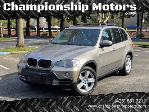 2009 BMW X5 for sale at Championship Motors in Redmond WA