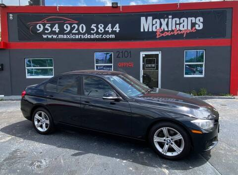 2013 BMW 3 Series for sale at Maxicars Auto Sales in West Park FL
