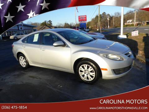 2010 Mazda MAZDA6 for sale at CAROLINA MOTORS in Thomasville NC