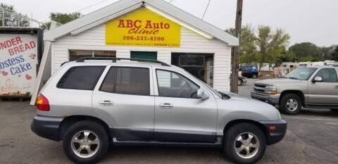2004 Hyundai Santa Fe for sale at ABC AUTO CLINIC - Chubbuck in Chubbuck ID