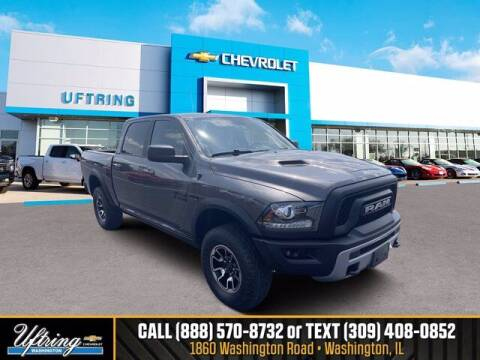 2016 RAM Ram Pickup 1500 for sale at Gary Uftring's Used Car Outlet in Washington IL