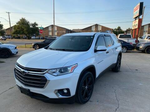 2018 Chevrolet Traverse for sale at Car Gallery in Oklahoma City OK