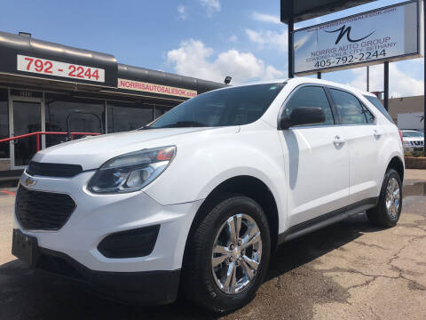 2016 Chevrolet Equinox for sale at NORRIS AUTO SALES in Oklahoma City OK