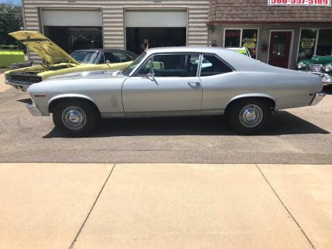 1969 Chevrolet Nova for sale at MICHAEL'S AUTO SALES in Mount Clemens MI
