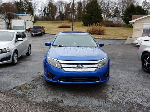 2012 Ford Fusion for sale at K & P Used Cars, Inc. in Philadelphia TN