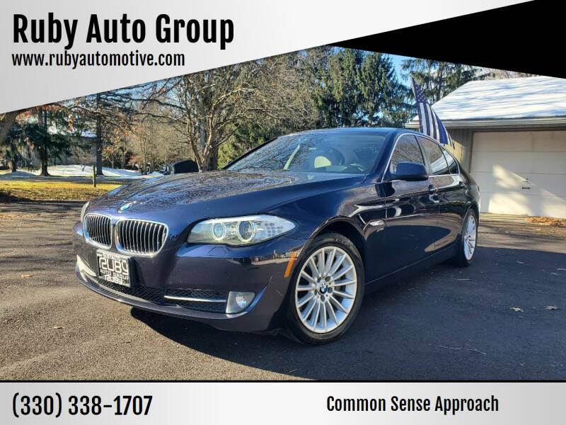 2012 BMW 5 Series for sale at Ruby Auto Group in Hudson OH