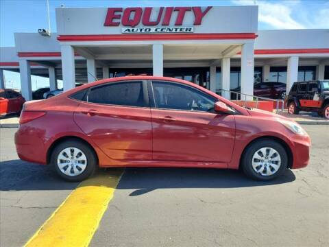 2017 Hyundai Accent for sale at EQUITY AUTO CENTER in Phoenix AZ