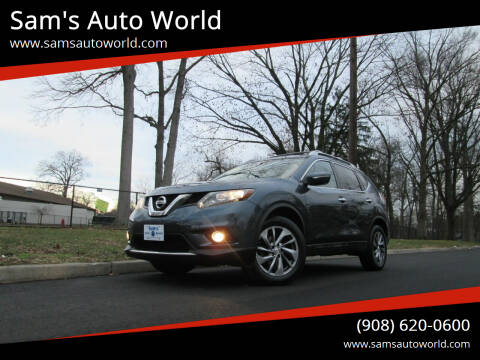 2014 Nissan Rogue for sale at Sam's Auto World in Roselle NJ