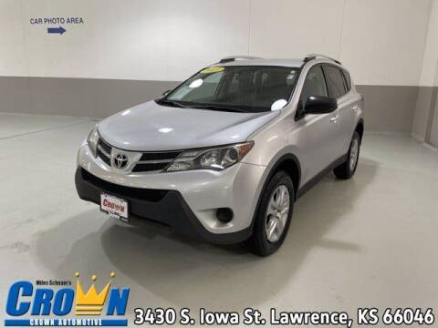 2013 Toyota RAV4 for sale at Crown Automotive of Lawrence Kansas in Lawrence KS